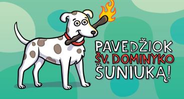 (Domini) canes Vilniuje: orientacinis žaidimas istorijos ir šunų mylėtojams
