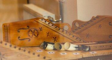 Antano Butkaus muzikos instrumentų paroda