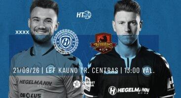 Optibet A lyga 30 turas | FC Hegelmann Litauen x FK Džiugas