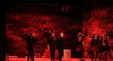 """Dviejų dalių spektaklis """"Tango Taganroge"""""""