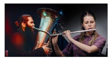 Improvizacinės muzikos vakaras | Mikas Kurtinaitis ir Salomėja Kalvelytė