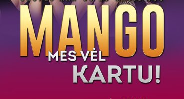 MANGO 20-mečio koncertas Alytuje