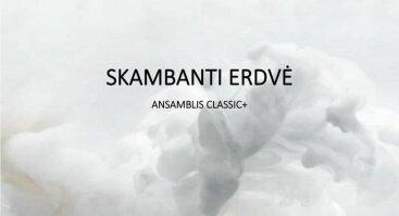 SKAMBANTI ERDVĖ I Ansamblis CLASSIC+
