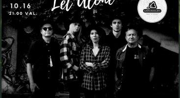 Let Alone. Albumo pristatymo koncertas