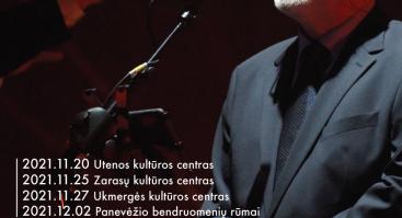 Kostas Smoriginas. Autorinių dainų koncertas | Panevėžys