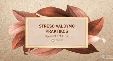 Streso valdymo praktikų užsiėmimas