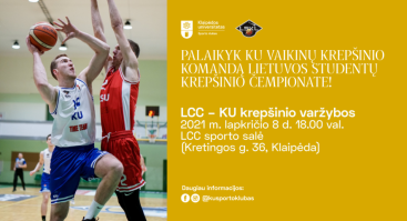 LCC vs. KU | Lietuvos studentų krepšinio lygos čempionatas