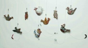 """Keramikos darbų paroda """"Skriski paukšte"""""""