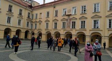 Ekskursija Vilniaus universitete už arbatpinigius 10.23