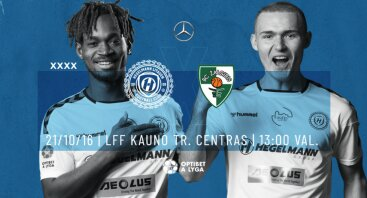 Optibet A lyga 32 turas | FC Hegelmann Litauen x FK Kauno Žalgiris