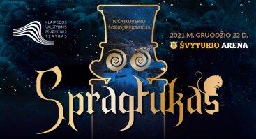 """Piotro Čaikovskio šokio spektaklis """"Spragtukas"""""""