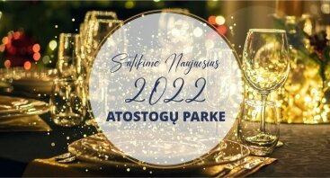 """Naujųjų 2022 metų sutikimas """"Atostogų parke""""!"""