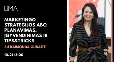 KUFA ir LiMA online| Marketingo Strategijos ABC Su Raimonda Gudaite