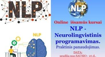 Online KURSAI | NLP - Neurolingvistinis programavimas | Praktinis panaudojimas.
