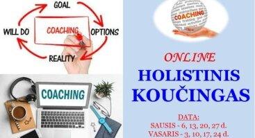 ONLINE | HOLISTINIS KOUČINGAS. Praktinis panaudojimas.