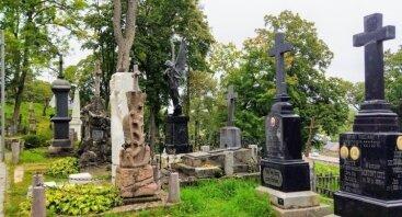 Ekskursija už arbatpinigius Rasų kapinėse 11.01