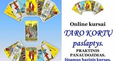 Online KURSAI | TARO KORTŲ PASLAPTYS. PRAKTINIS PANAUDOJIMAS.