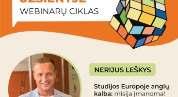 Studijos Europoje anglų kalba:misija įmanoma