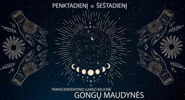Transcendentinio Garso Kelionė - Gongų Maudynės
