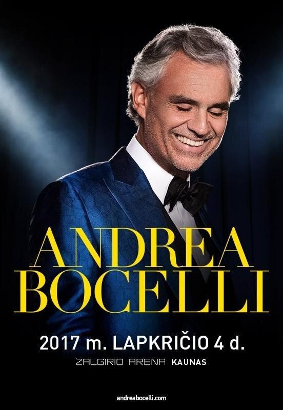 Andrea Bocelli koncertas
