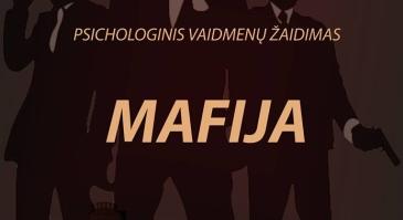 """Psichologinis intelektualus vaidmenų žaidimas """"Mafija"""""""