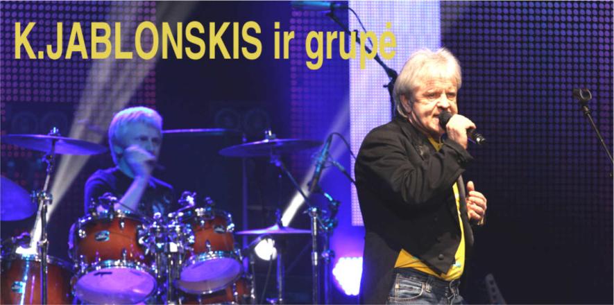Groja Kęstutis Jablonskis ir grupė