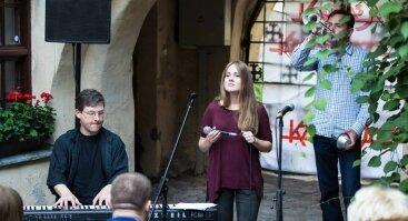 Kaunas Jazz - senamiesčio kiemelis