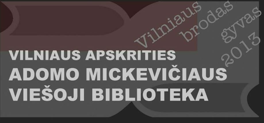 Vilniaus apskrities Adomo Mickevičiaus viešoji biblioteka
