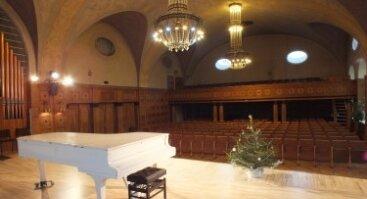Klaipėdos universiteto Menų akademijos koncertų salė