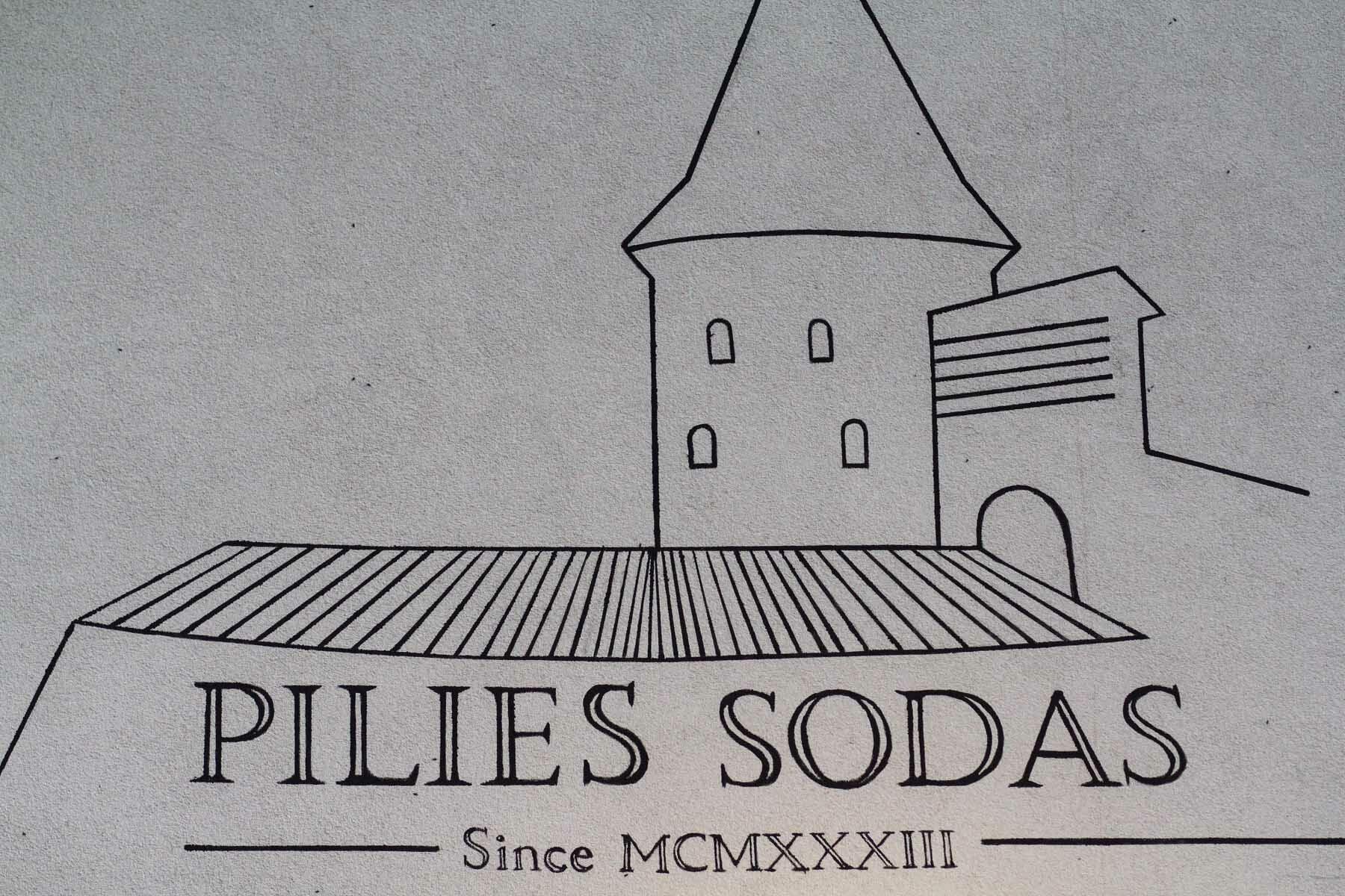 Pilies sodas