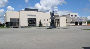 Alytus, prie Alytaus sporto ir rekreacijos centro