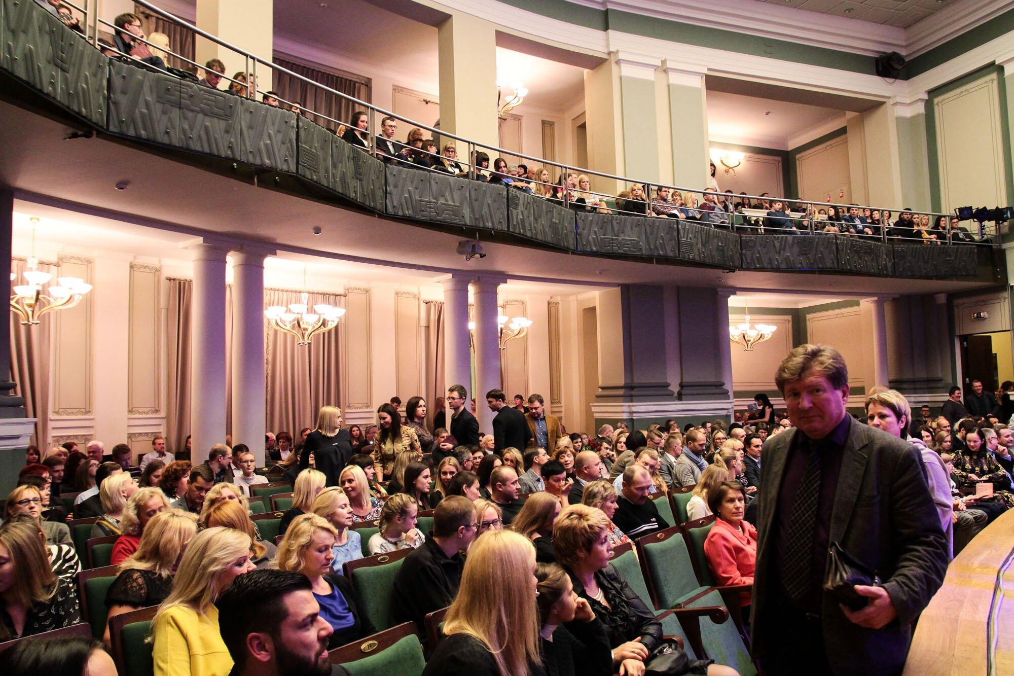 Kauno filharmonija salės planas