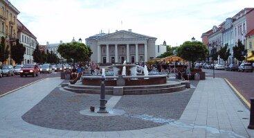 Fontanas rotušės aikštėje