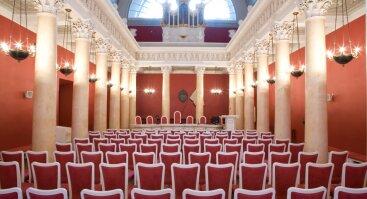 Vilniaus Universiteto Mažoji aula, Universiteto g. 3, Vilnius