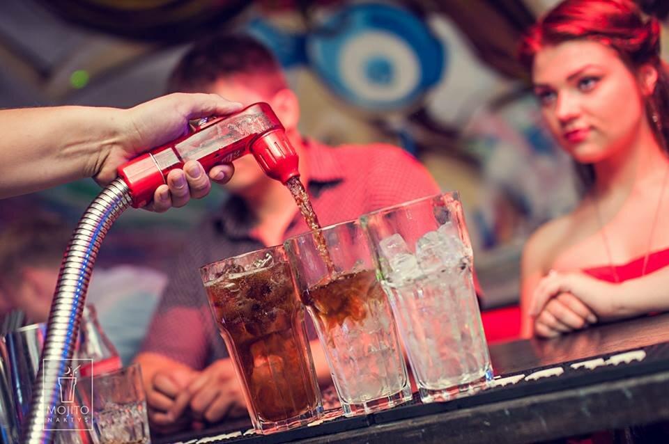 MOJITO NAKTYS - kokteilių klubas
