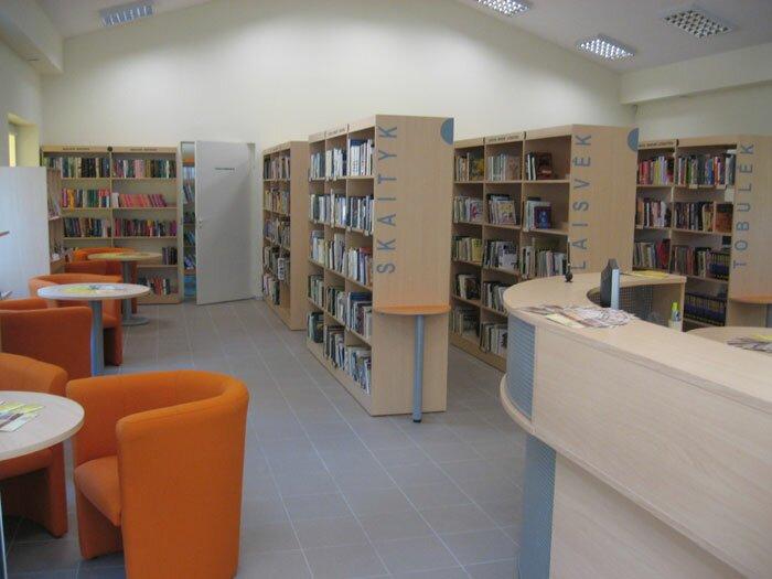 Girulių biblioteka / Klaipėdos miesto savivaldybės viešoji biblioteka