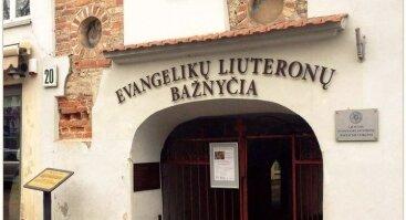 Vilniaus evangelikų liuteronų bažnyčia Vokiečių g. 20, 01013 Vilnius, Lithuania