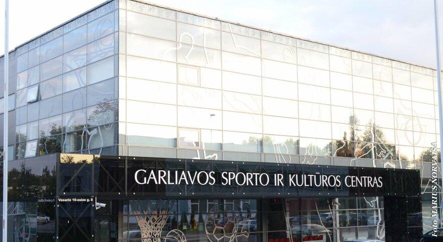 Garliavos sporto ir kultūros centro teritorijoje