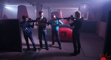 LAZERTRONAS - Žaidimas lazeriniais šautuvais