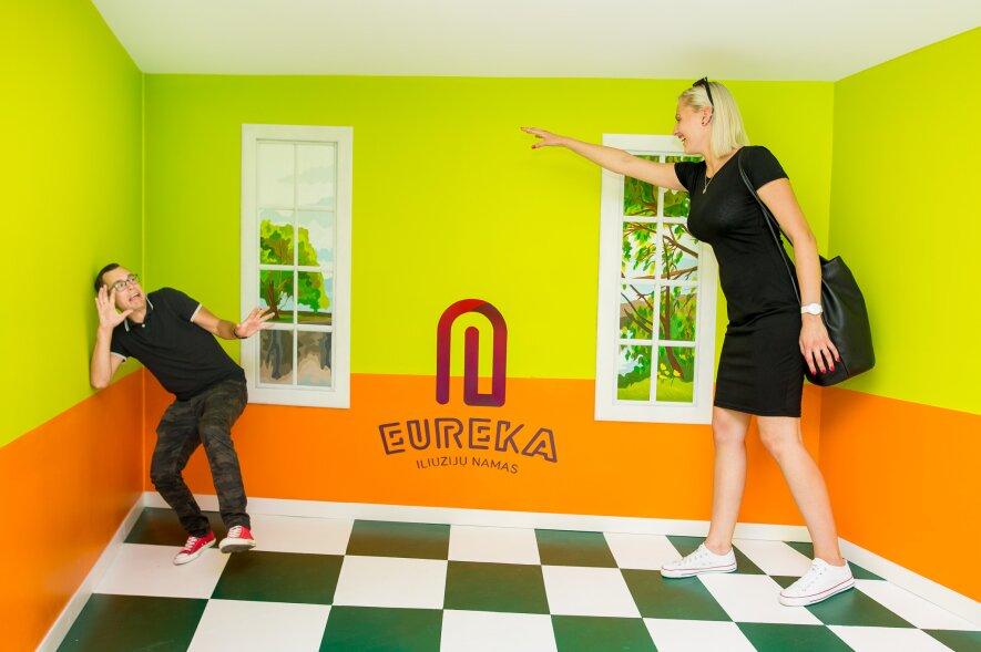 """Iliuzijų namas """"Eureka"""""""