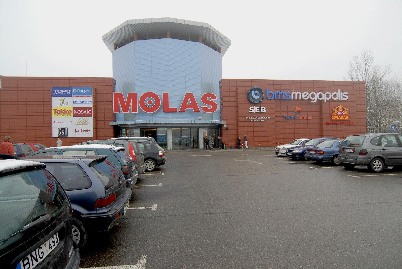 Molas prekybos ir paslaugų centras kaunas