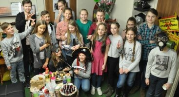 Vaikų gimtadieniai pabėgimo kambariuose