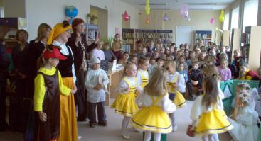 Vaikų skyrius / Klaipėdos miesto savivaldybės viešoji biblioteka