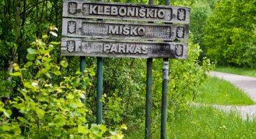 Kleboniškio miško parkas